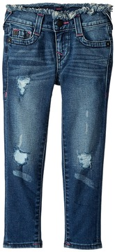 True Religion Casey Skinny Jeans in Vintage Pink Girl's Jeans