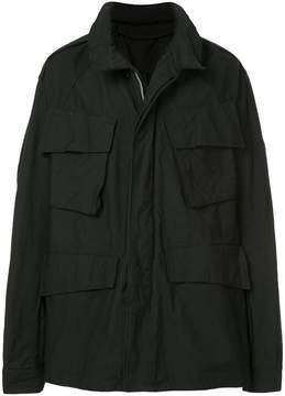 Julius oversized flap pocket coat