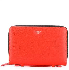 Emporio Armani logo print wallet