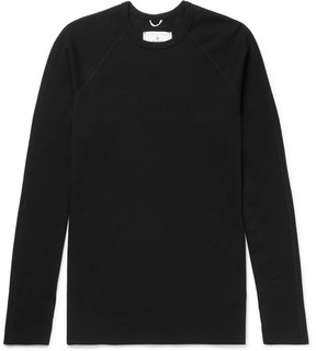 Reigning Champ Perforated Cotton-Jersey T-Shirt