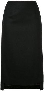 ESTNATION fitted over-the-knee skirt