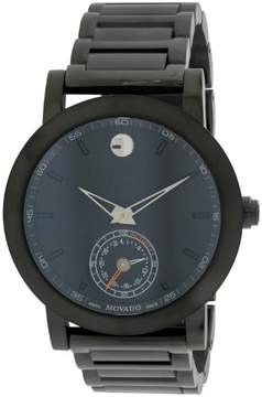 Movado Museum Sport Motion Black Stainless Steel Mens Watch 0660002