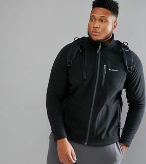 Columbia Plus Size Fast Trek II Fleece Full Zip in Black