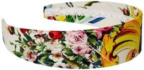 Dolce & Gabbana Maioliche Floral Headband Headband