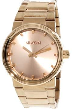 Nixon Men's A160897 Cannon Stainless Steel Watch, 40mm