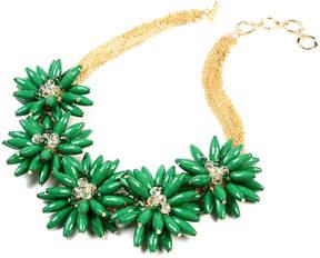 Amrita Singh Evergreen & Goldtone Botanical Necklace