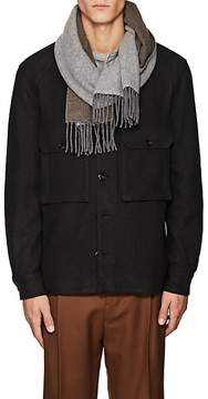 Barneys New York Men's Cashmere Double-Faced Scarf