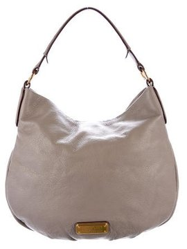 Marc by Marc Jacobs Pebbled Leather Hobo - BROWN - STYLE