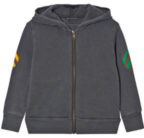 Bobo Choses Grey Fish Hooded Sweatshirt