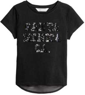 H&M Top with Sequins
