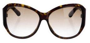 Saint Laurent Oversize Gradient Sunglasses