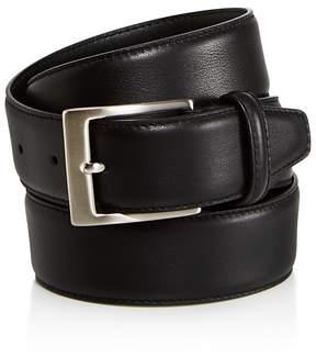 Canali Basic Smooth Leather Belt