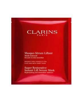 Clarins Super Restorative Instant Lift Serum Mask, 1 Pack