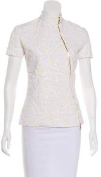 Christian Dior Jacquard Zip-Up Jacket
