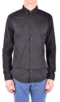Armani Jeans Men's Black Cotton Shirt.