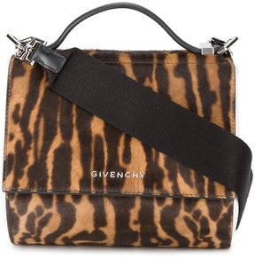 Givenchy mini leopard print pandora box bag