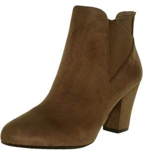 BCBGeneration Women's Dolan Suede Taupe/Taupe Ankle-High Boot - 8M
