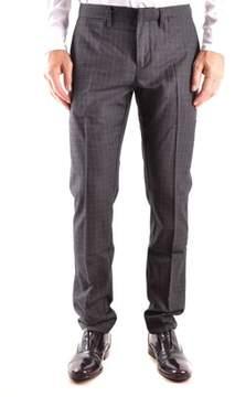 Siviglia Men's Grey Wool Pants.
