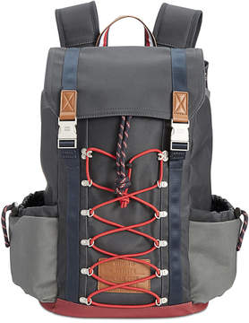 Tommy Hilfiger Men's Coated Canvas Backpack