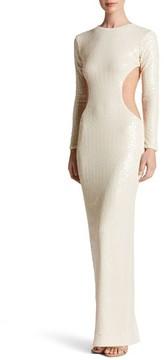 Dress the Population Women's Lara Body-Con Gown