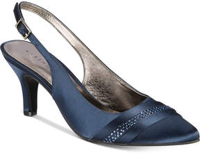 Karen Scott Gorgia Pointed Toe Slingback Pumps, Created for Macy's Women's Shoes