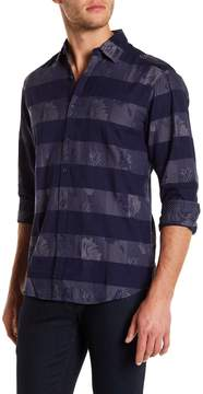Report Collection Long Sleeve Jacquard Regular Fit Shirt