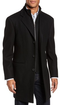 Nordstrom Men's Carson Wool Blend Overcoat