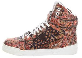 Givenchy Tyson Paisley Print Sneakers