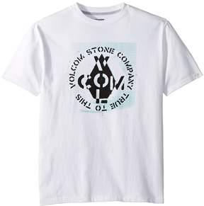 Volcom Cage Short Sleeve Tee Boy's T Shirt