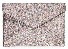 Rebecca Minkoff 'Leo' Envelope Clutch - Metallic - METALLIC - STYLE