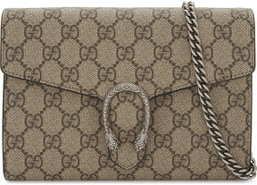 Gucci Dionysus GG Supreme wallet-on-chain - BEIGE BLACK - STYLE
