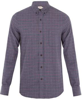 Faherty Ventura checked cotton shirt