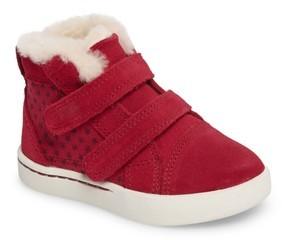 UGG Toddler Girl's Rennon Stars High Top Sneaker