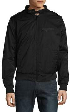 Members Only Heavy Twill Zip-Front Jacket