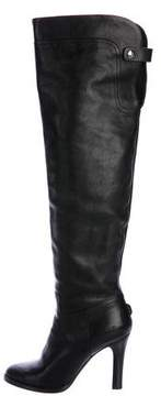 Ralph Lauren Over-The-Knee Leather Boots
