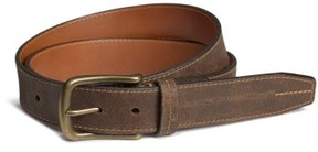 Trask Men's 'Logan' Bison Leather Belt