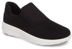 FitFlop Women's Loaff Platform Slip-On Sneaker