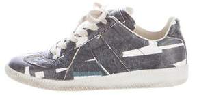 Maison Margiela Printed Low-Top Sneakers