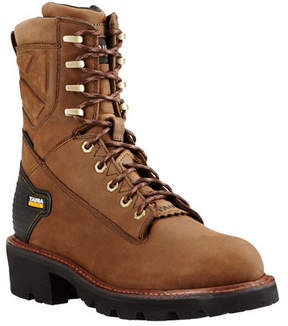 Ariat Men's Powerline 8 H2O Logger Boot