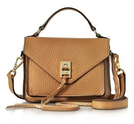 Rebecca Minkoff Women's Brown Leather Handbag. - BROWN - STYLE