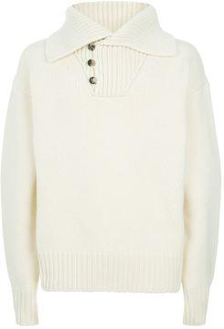 Loewe Shawl Collar Sweater
