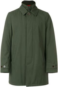 Fay short zipped coat