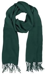 Mila Schon Women's Green Wool Scarf.