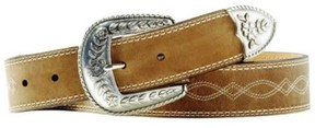 Ariat A10004144-36 Womens Fat Distressed Leather Belt, Size - 36
