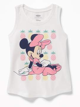 Old Navy Disney© Minnie Mouse Pineapples Graphic Tank for Toddler Girls