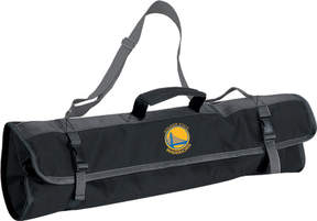Picnic Time 3-Piece BBQ Tote Golden State Warriors Print