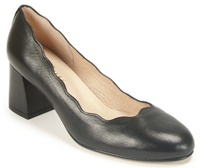 French Sole Wave - Scalloped Pump