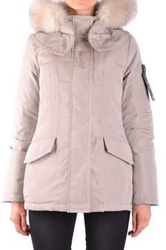 Peuterey Women's Beige Polyester Outerwear Jacket.