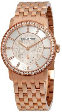Audemars Piguet Jules Audemars Diamond Manual Wind Rose Gold Ladies Watch