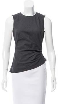 Tahari Wool Asymmetrical Top